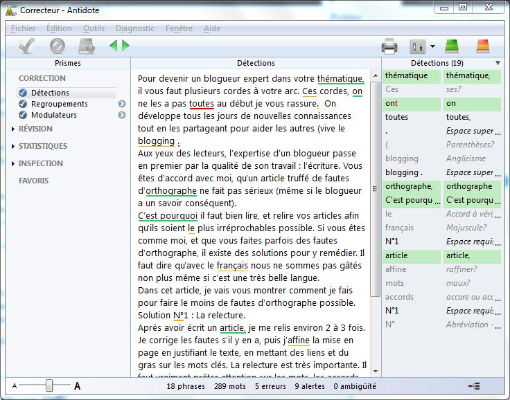 Antidote HD - Correcteur orthographique